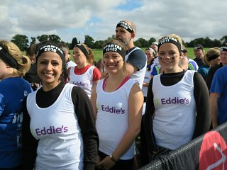 Spartan Race obstacle course for Eddies charity Sep 2015